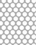 Pontos brancos em um fundo cinzento Fotos de Stock