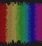 Pontos coloridos Fotografia de Stock Royalty Free
