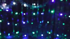 Pontos coloridos da luz filme