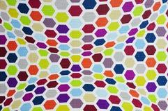 Pontos coloridos do teste padrão Fotografia de Stock