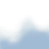 Pontos da água azul Imagens de Stock Royalty Free