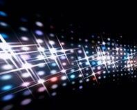 Pontos da luz Foto de Stock