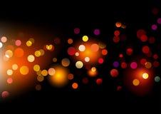 Pontos de luzes Fotografia de Stock