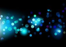 Pontos de luzes ilustração stock
