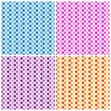Pontos de polca - teste padrão sem emenda Fotos de Stock Royalty Free