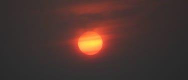 Pontos de Sun Foto de Stock Royalty Free