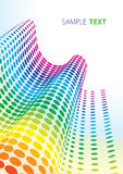 Pontos do espectro Foto de Stock