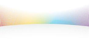Pontos do espectro de cor Fotos de Stock Royalty Free
