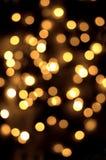 Pontos do ouro Fotos de Stock Royalty Free