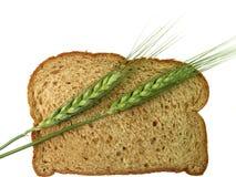 Pontos do pão e do trigo Foto de Stock