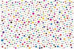 Pontos e fundo brilhantes abstratos dos vawes Fotos de Stock