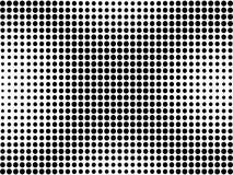 Pontos pretos no fundo branco Fotografia de Stock