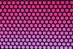 Pontos roxos no preto Imagens de Stock