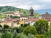 Pontremoli - ancient Medieval town in Italy. Stock Images