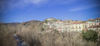 Pontremoli, Lunigiana, Италия Стоковые Фотографии RF