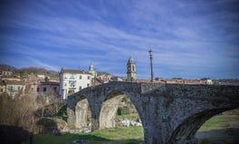Pontremoli, Lunigiana, Italië Stock Foto's