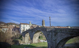 Pontremoli, Lunigiana, Italia Fotografie Stock