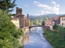 Pontremoli, Lunigiana, Italie Belle petite ville Image libre de droits