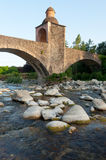 Pontremoli ponte ai Chiosi Royalty Free Stock Photo