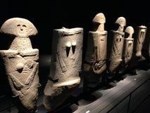 Pontremoli   Statuy stela   Antyczny Stuatues Fotografia Stock