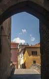 Pontremoli (Toscanië) Stock Afbeelding