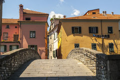 Pontremoli (Tuscany) Royalty Free Stock Photography