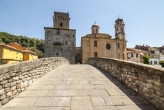 Pontremoli (Tuscany) Stock Images