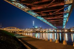 Ponts à Taïwan Image libre de droits