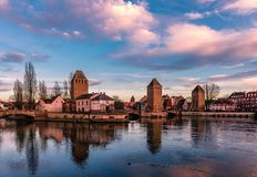 Ponts Couverts в страсбурге стоковые изображения