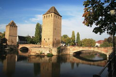 Ponts Couverts Royalty-vrije Stock Foto's