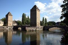 Ponts Couverts in Straßburg Lizenzfreies Stockfoto