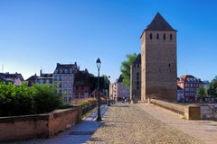 Ponts Couverts in Strasbourg, Alsace Stock Photo