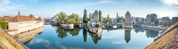 Ponts Couverts in Strasbourg Stock Images