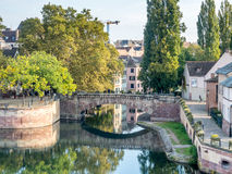 Ponts Couverts in Strasbourg Royalty Free Stock Photo