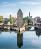 Ponts Couverts in Strasbourg Stock Photo
