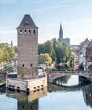 Ponts Couverts in Strasbourg Stock Image