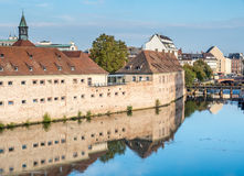 Ponts Couverts in Strasbourg Royalty Free Stock Photos