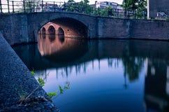 Ponts d'Amsterdam Photos stock