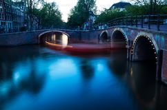 Ponts d'Amsterdam Image stock
