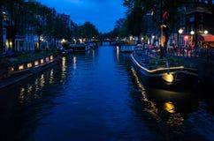 Ponts d'Amsterdam Images libres de droits