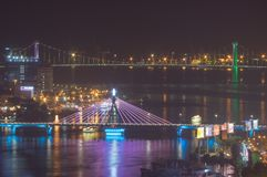 Ponts dans le Da Nang Vietnam photos libres de droits
