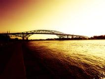 Ponts de Bluewater Photo stock
