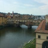 Ponts de Firenze Photos stock