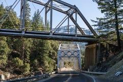 Ponts de jumeau de Tobin Photos libres de droits