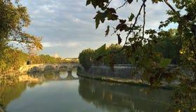Ponts de Rome - Ponte Principe Amedeo Savoia Aosta image stock