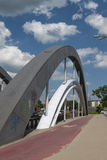 Ponts de Varsovie à Wroclaw Photographie stock