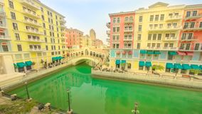 Ponts Doha de Venise banque de vidéos