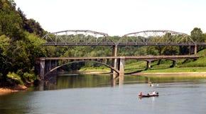 Ponts en route Photographie stock libre de droits