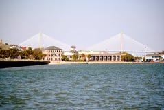 Ponts jumeaux, Charleston, Sc Photos stock