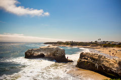 Ponts naturels Santa Cruz CA photos stock